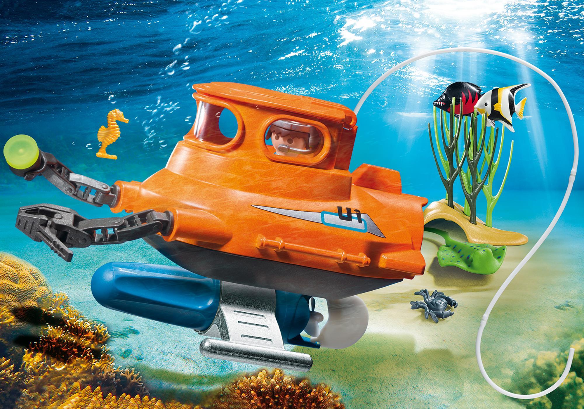 9234_product_detail/U-Boot mit Unterwassermotor