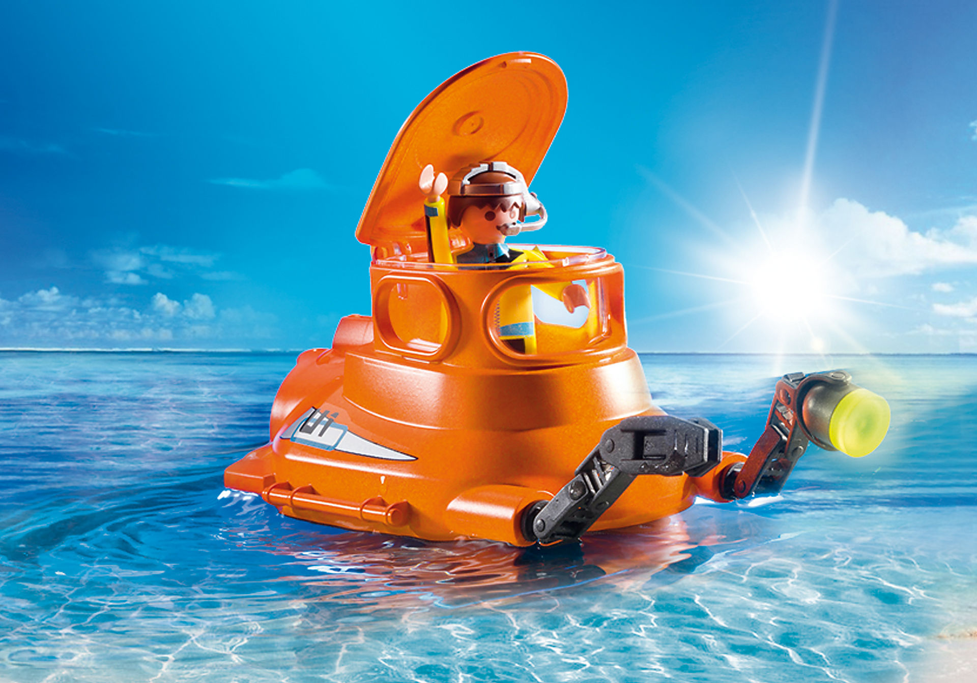 http://media.playmobil.com/i/playmobil/9234_product_extra2/Cloche de plongée avec moteur submersible