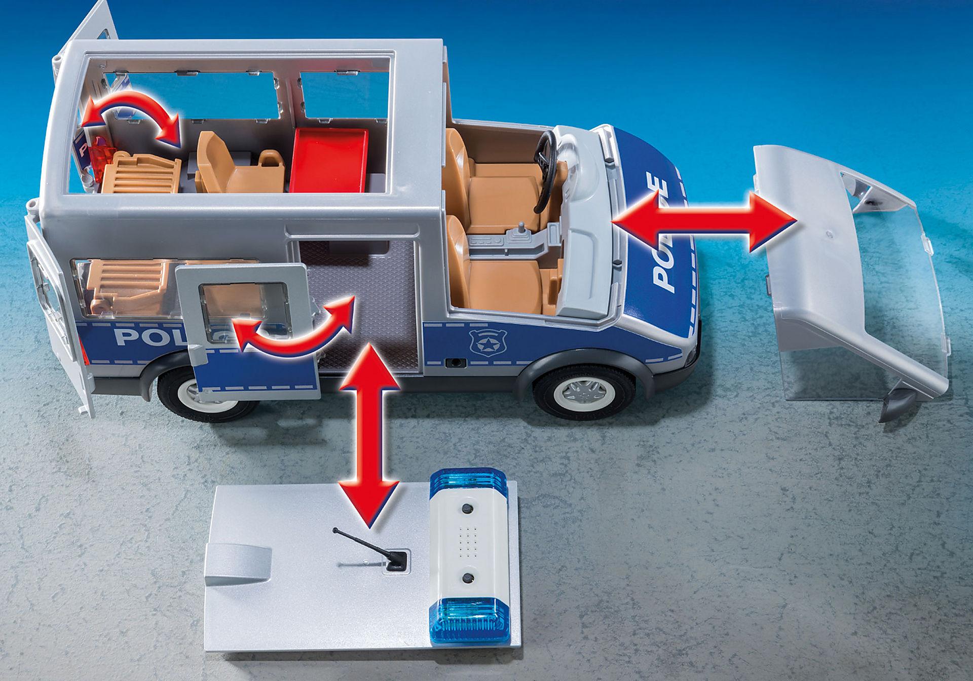 http://media.playmobil.com/i/playmobil/9236_product_extra3/Furgón Policía con Control de Tráfico