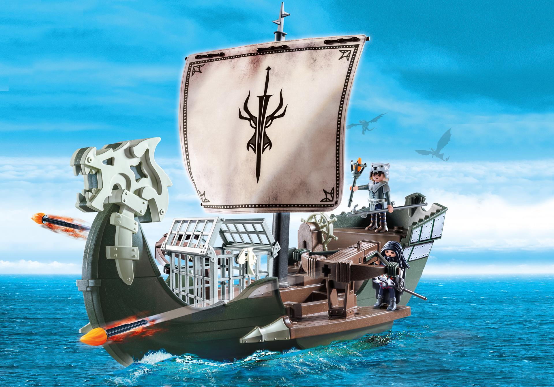 drago et vaisseau d 39 attaque 9244 playmobil france. Black Bedroom Furniture Sets. Home Design Ideas