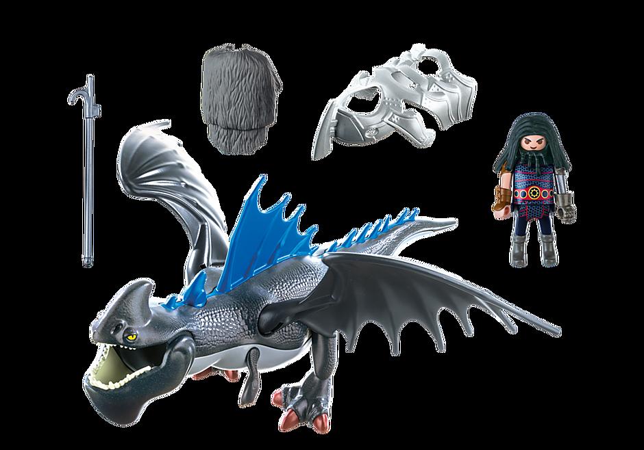 9248 Drago avec dragon de combat detail image 4
