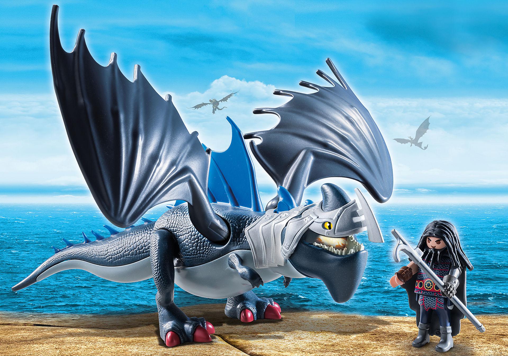 9248 Drago avec dragon de combat zoom image1