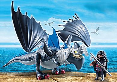 9248_product_detail/Drago y Dragón con Armadura