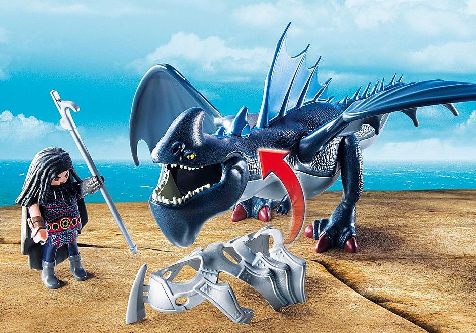 9248 Drago avec dragon de combat detail image 5