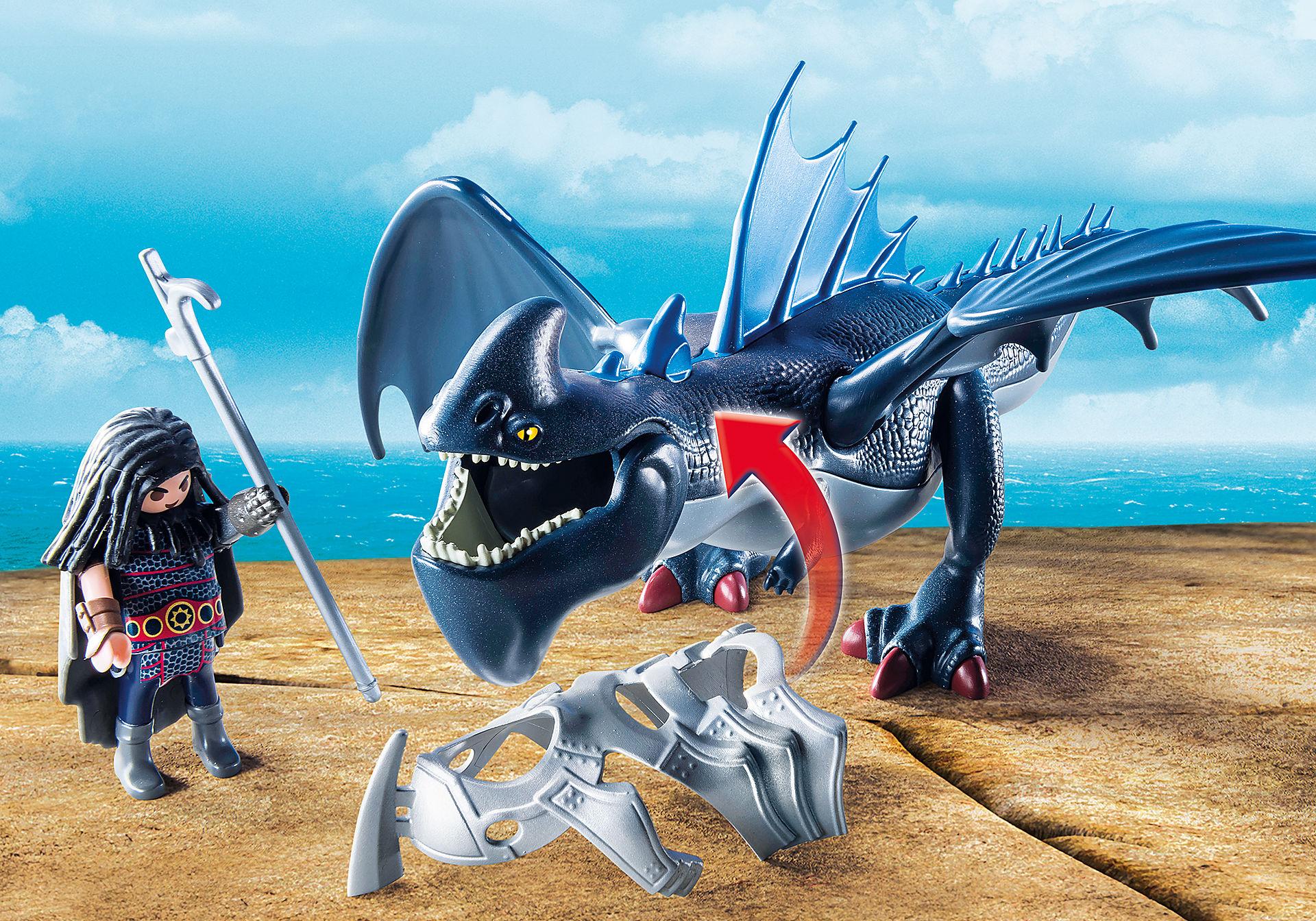 9248 Drago avec dragon de combat zoom image5