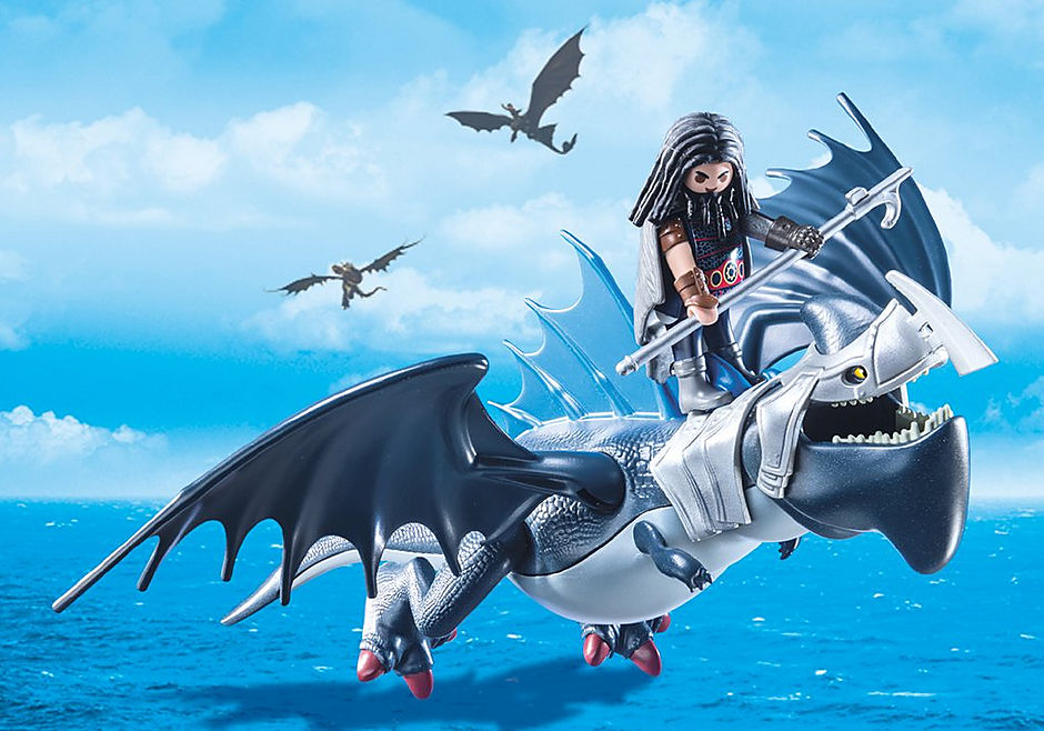9248 Drago avec dragon de combat detail image 7