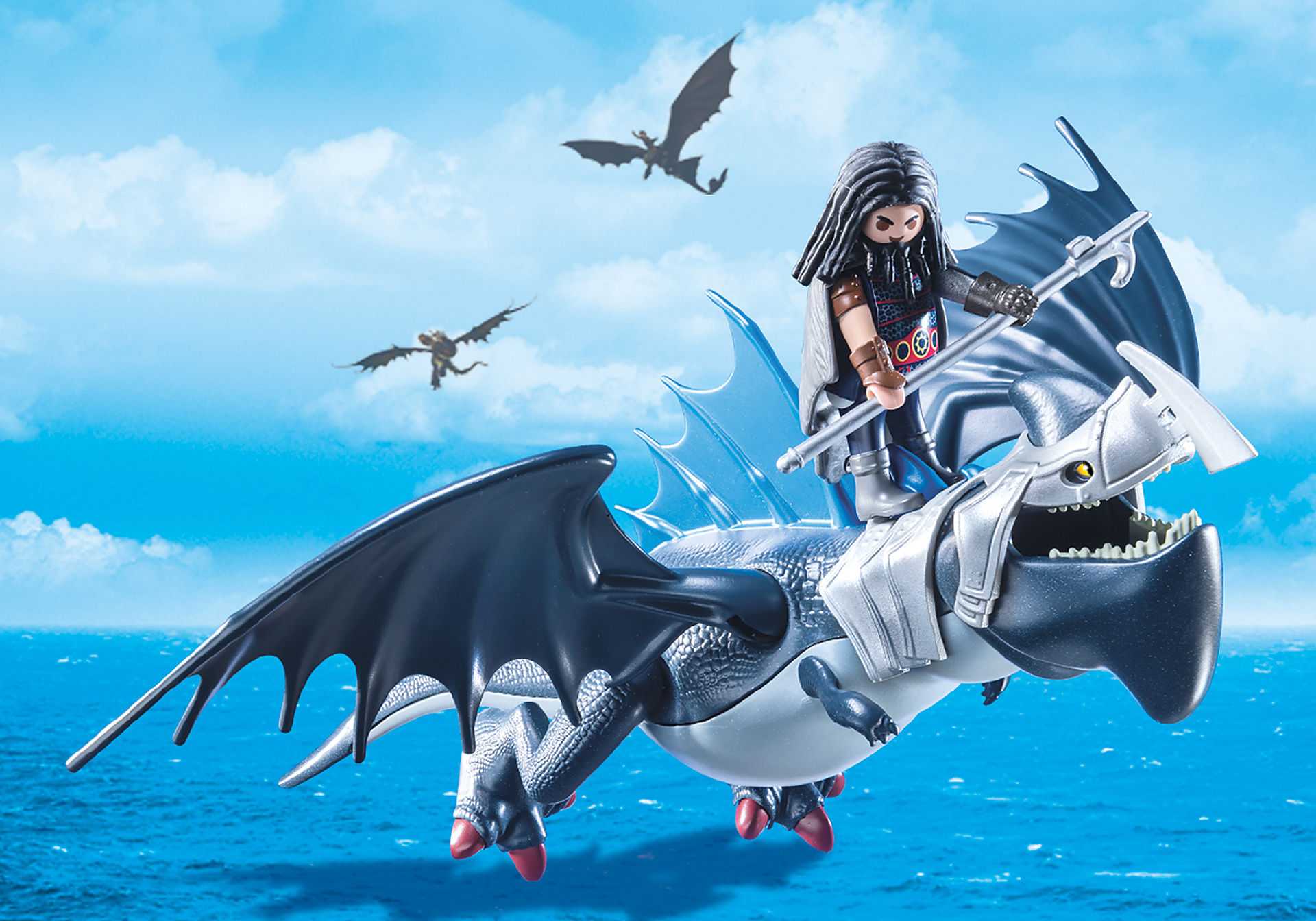 9248 Drago avec dragon de combat zoom image7