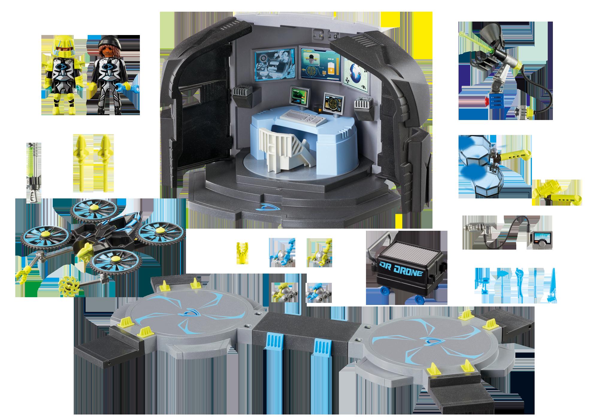 http://media.playmobil.com/i/playmobil/9250_product_box_back/Centre de commandement du Dr. Drone