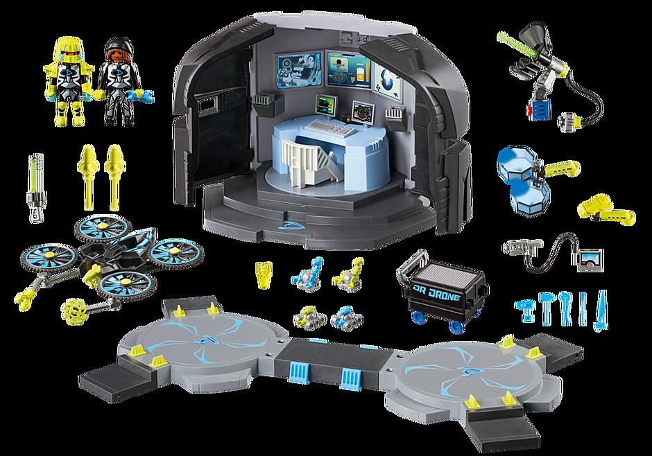 9250 Centre de commandement du Dr. Drone  detail image 5
