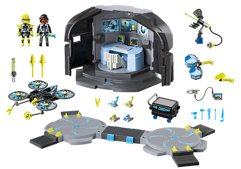 9250 Dr. Drone's Command Base detail image 5