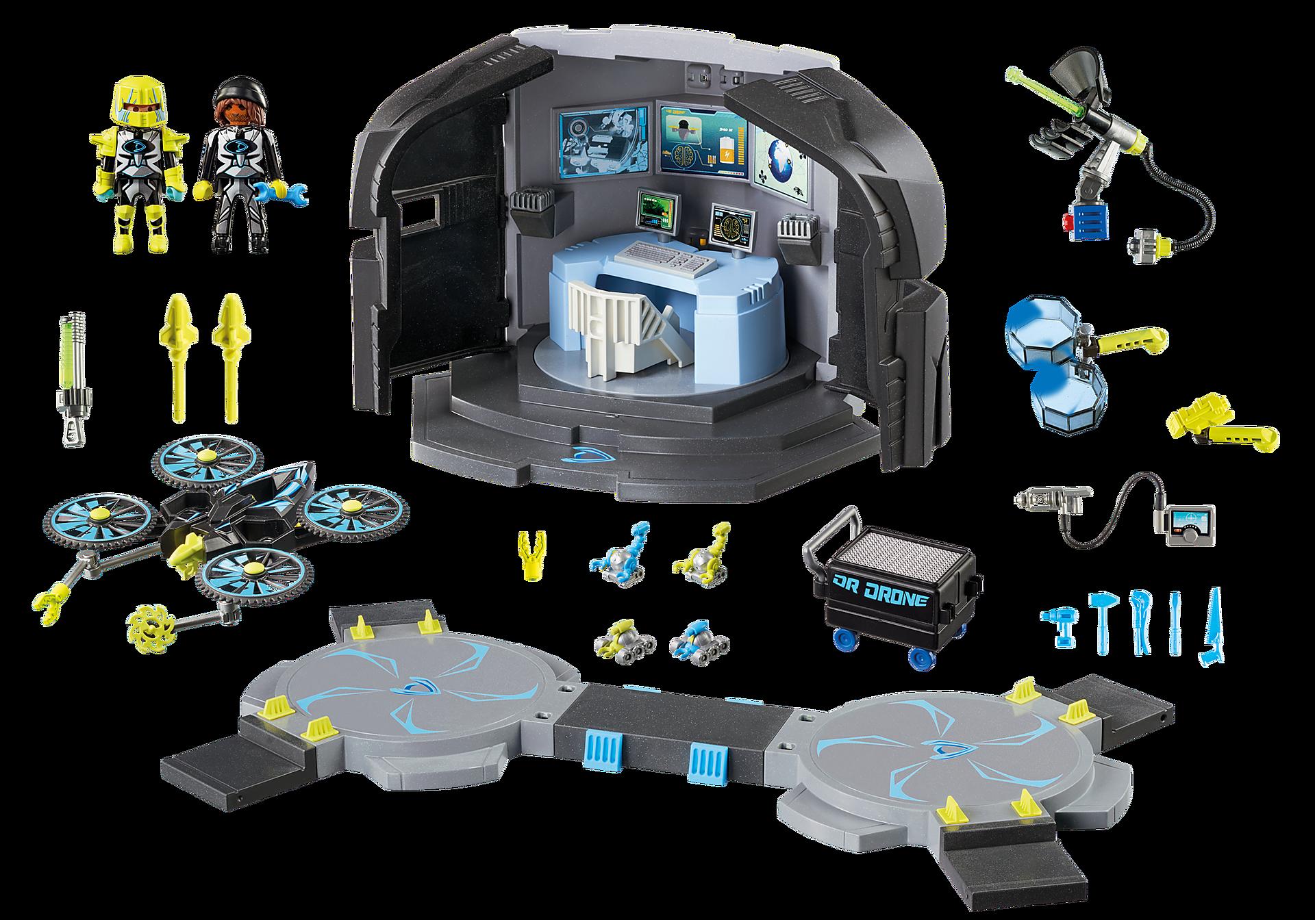 http://media.playmobil.com/i/playmobil/9250_product_box_back/Dr. Drone's Command Center