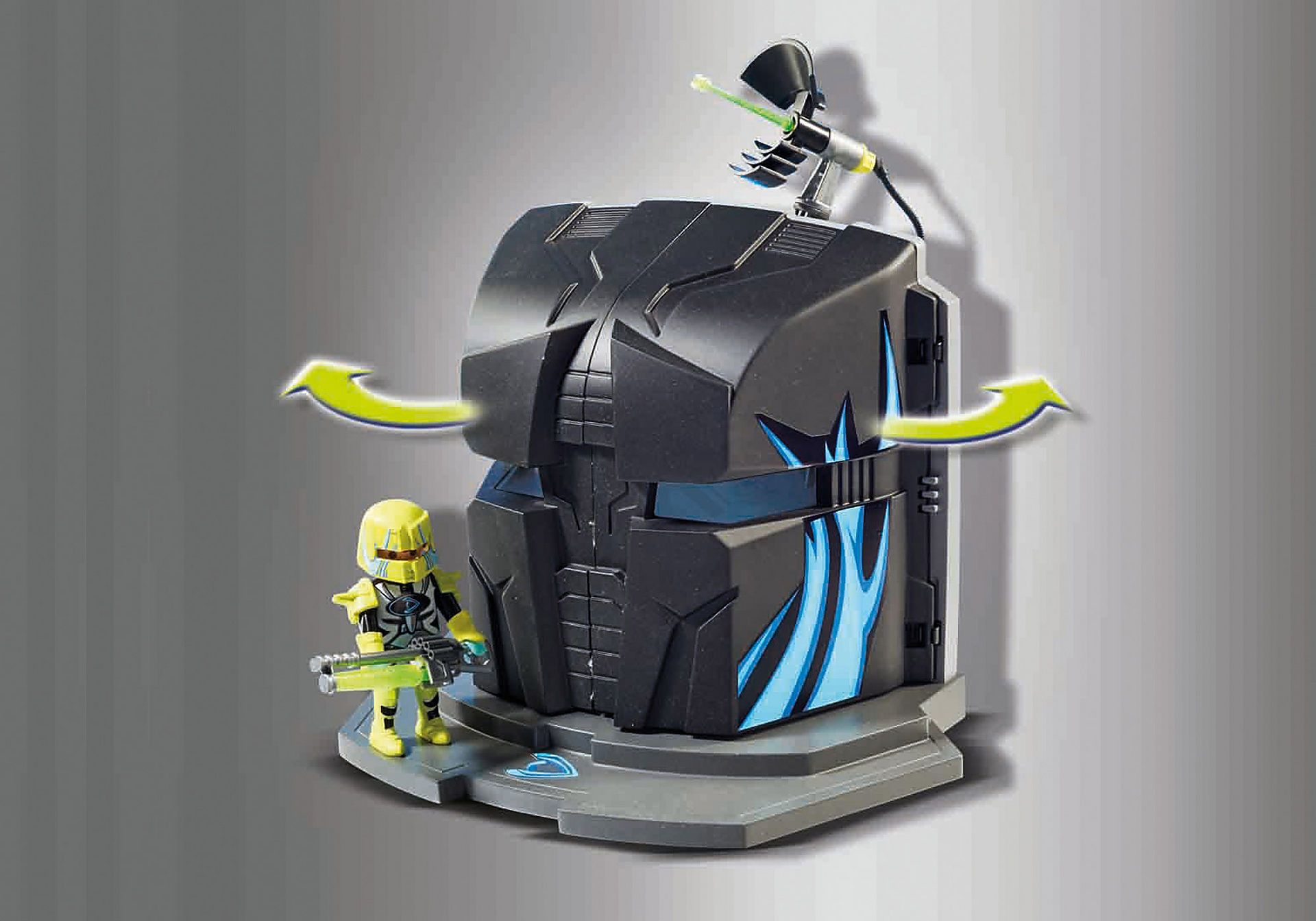 http://media.playmobil.com/i/playmobil/9250_product_extra3/Dr. Drone's Command Base