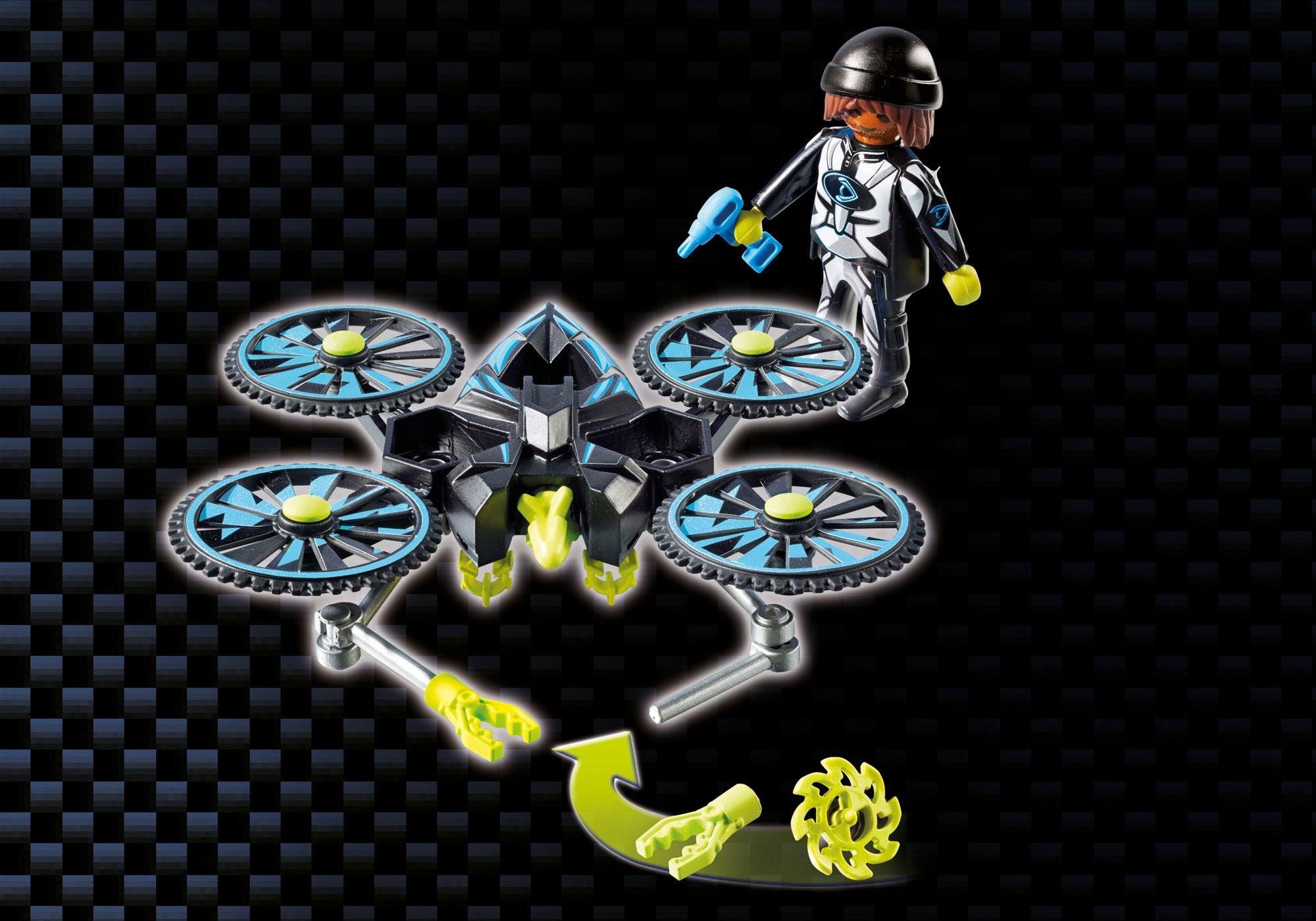 http://media.playmobil.com/i/playmobil/9250_product_extra5/Centre de commandement du Dr. Drone