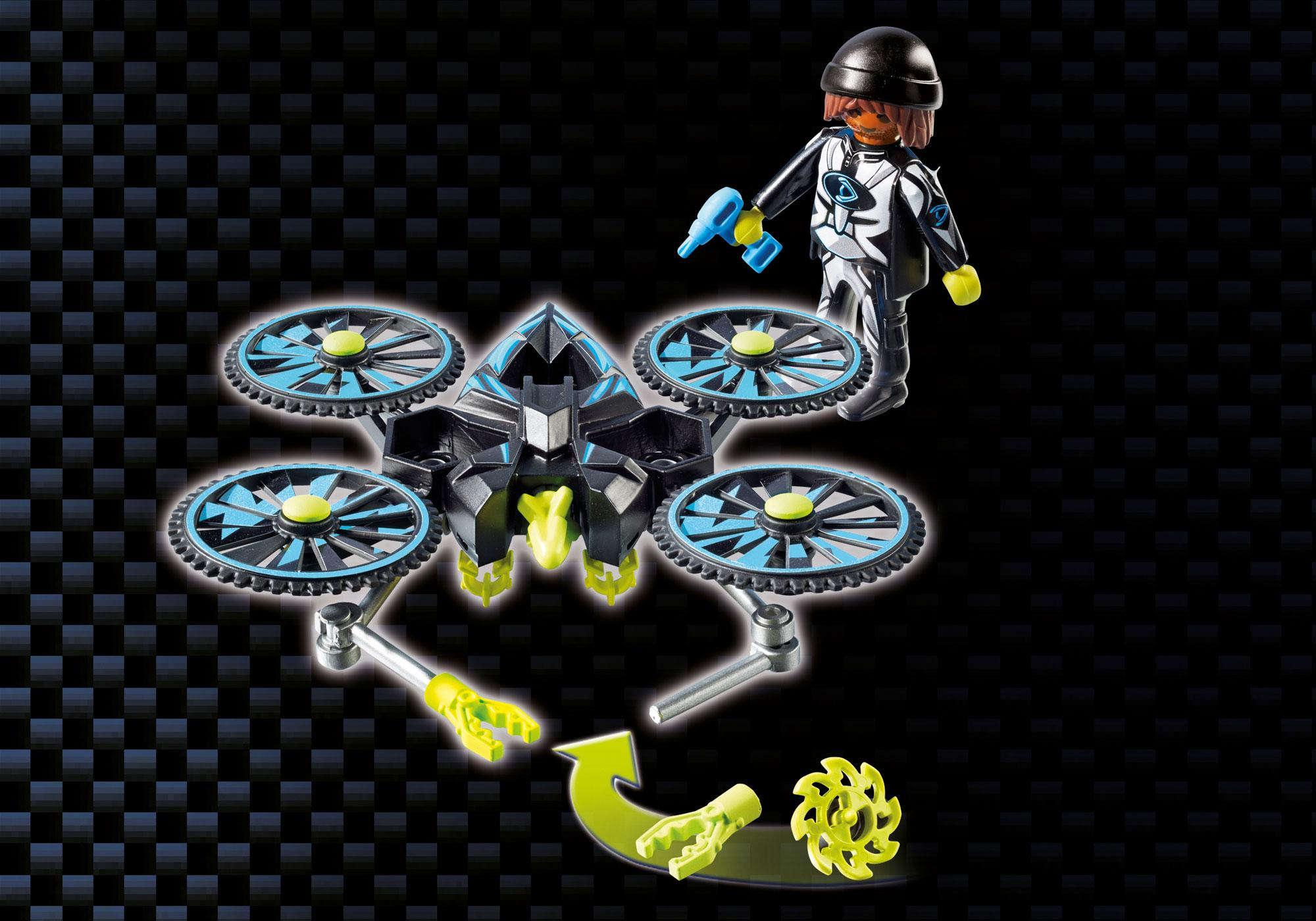 http://media.playmobil.com/i/playmobil/9250_product_extra5/Dr. Drone's Command Base