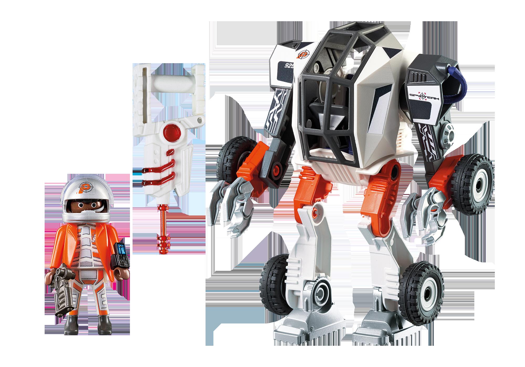 http://media.playmobil.com/i/playmobil/9251_product_box_back/Chef de la Spy Team avec Robot Mech