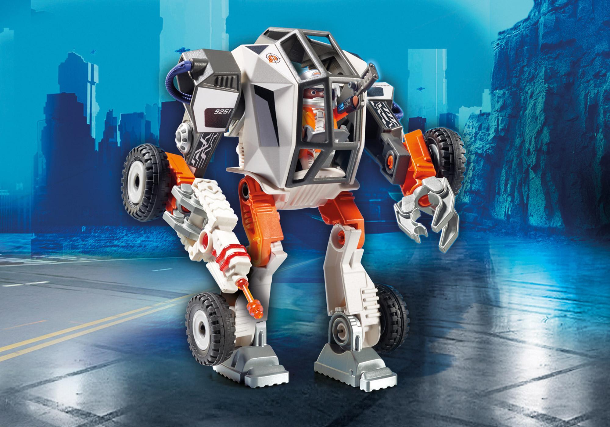 9251_product_detail/Chef de la Spy Team avec Robot Mech