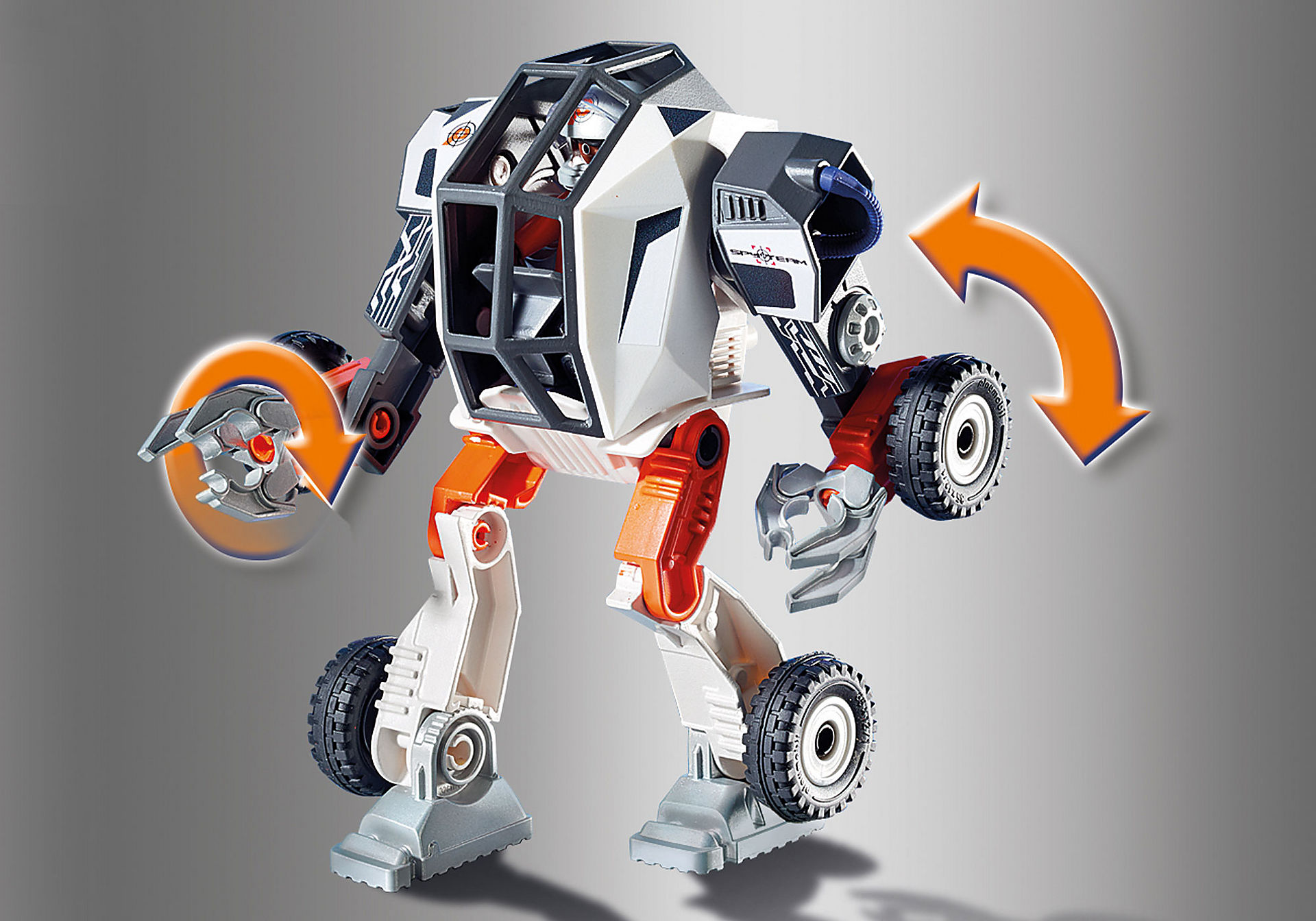 http://media.playmobil.com/i/playmobil/9251_product_extra2/Agent T.E.C.s' Robot