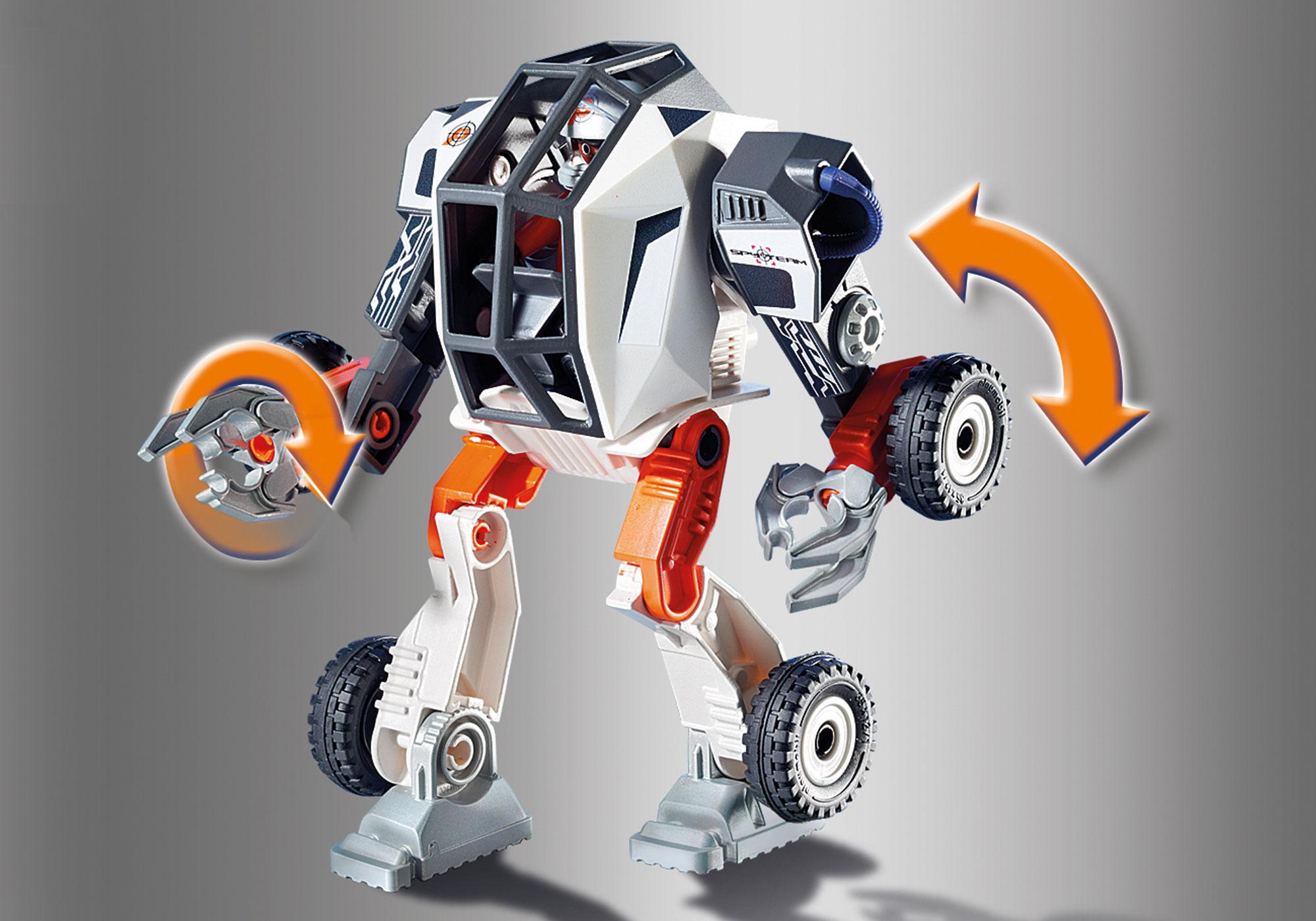 http://media.playmobil.com/i/playmobil/9251_product_extra2/Chef de la Spy Team avec Robot Mech