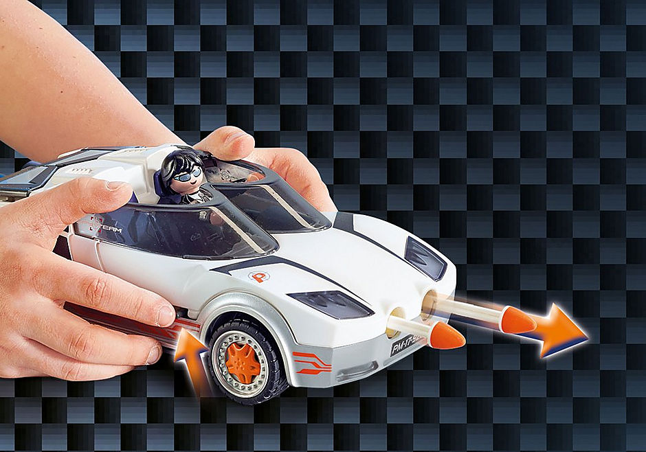 9252 Agent P.'s Spy Racer detail image 7