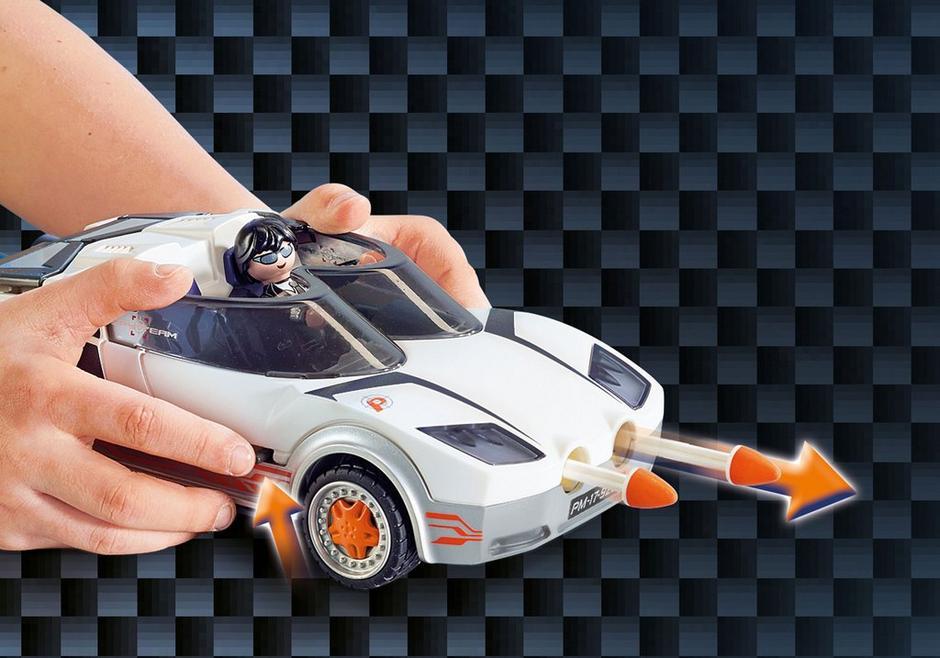PLAYMOBIL 9252 Agent P. i racer (39333)