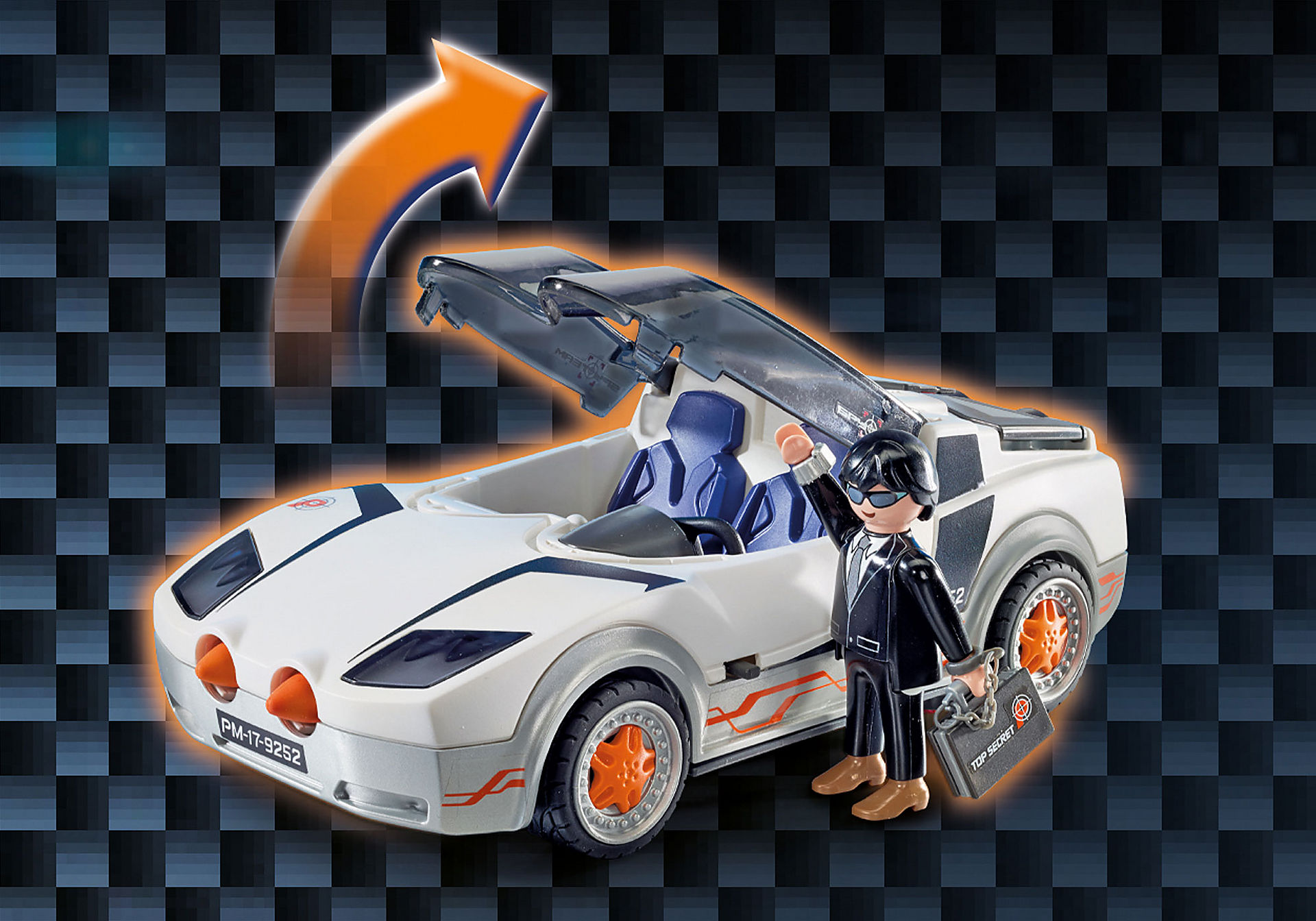 9252 Agente Secreto com Racer zoom image8