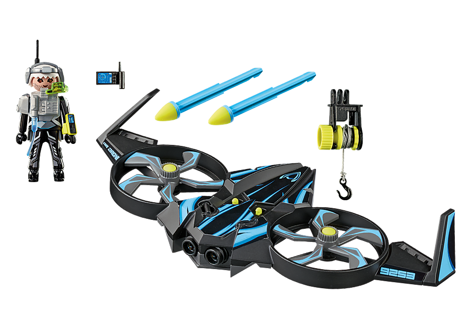 9253 Mega Drone con Sergente K detail image 4