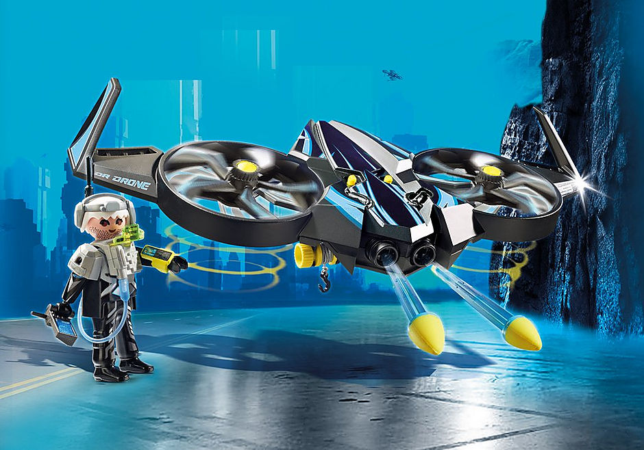 9253 Mega Drone con Sergente K detail image 1