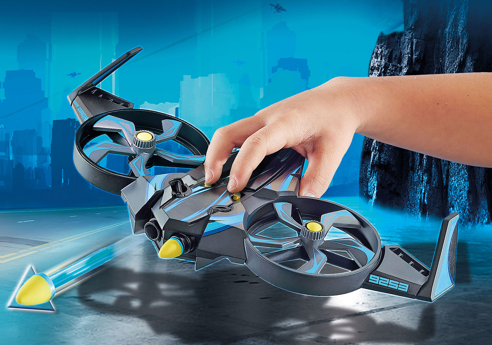 http://media.playmobil.com/i/playmobil/9253_product_extra1/Ιπτάμενο Mega Drone