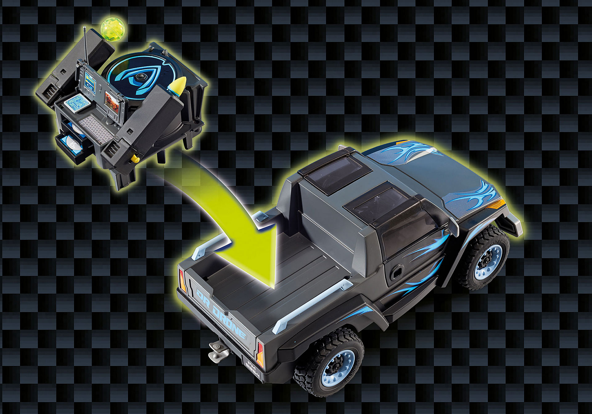 9254 Dr. Drones lastbil zoom image8