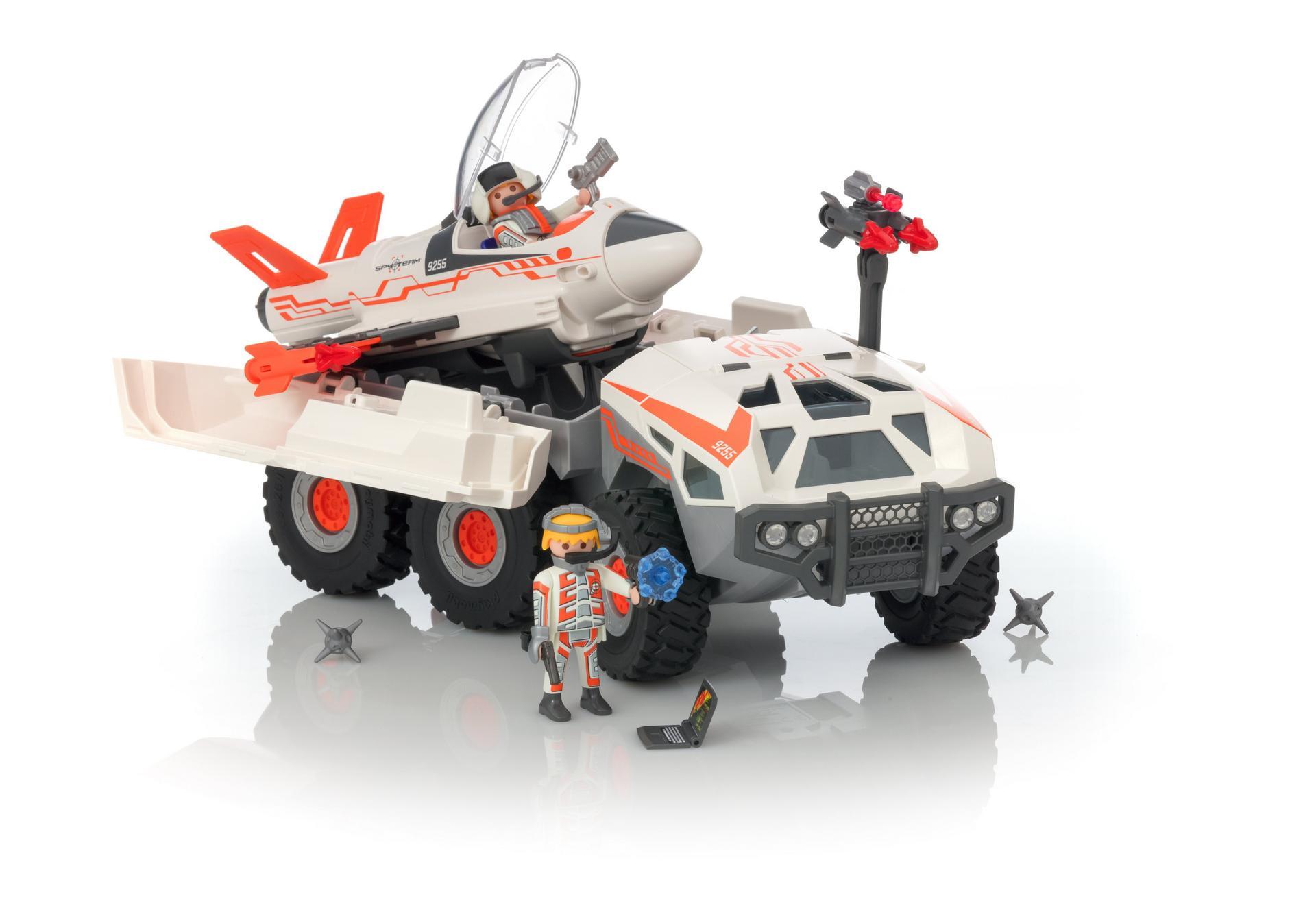 Sek Playmobil Ausmalbilder : Spy Team Battle Truck 9255 Playmobil Deutschland