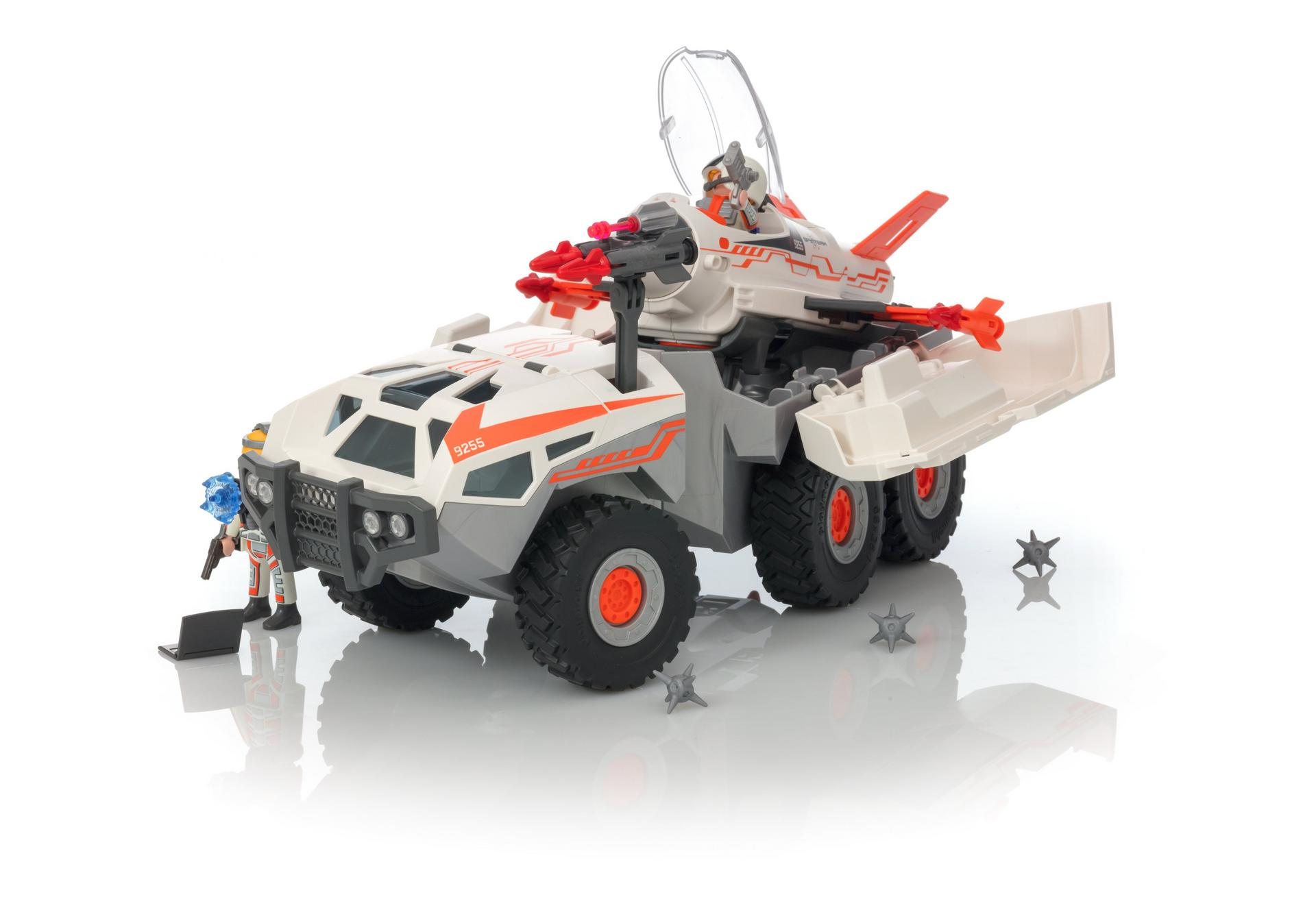 Ausmalbilder Playmobil Fairies : Spy Team Battle Truck 9255 Playmobil Deutschland