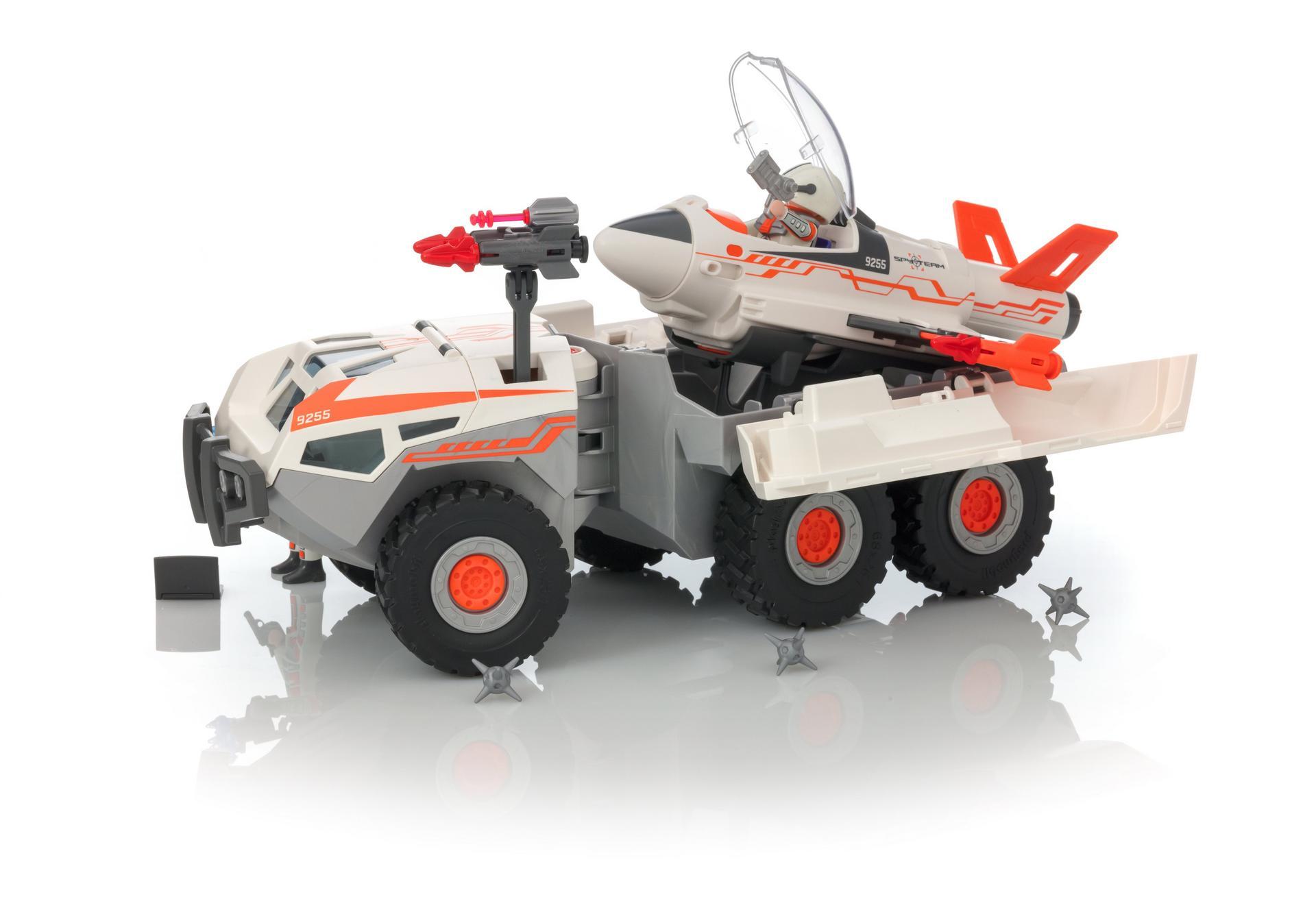Playmobil Top Agents Ausmalbilder : Spy Team Battle Truck 9255 Playmobil Deutschland