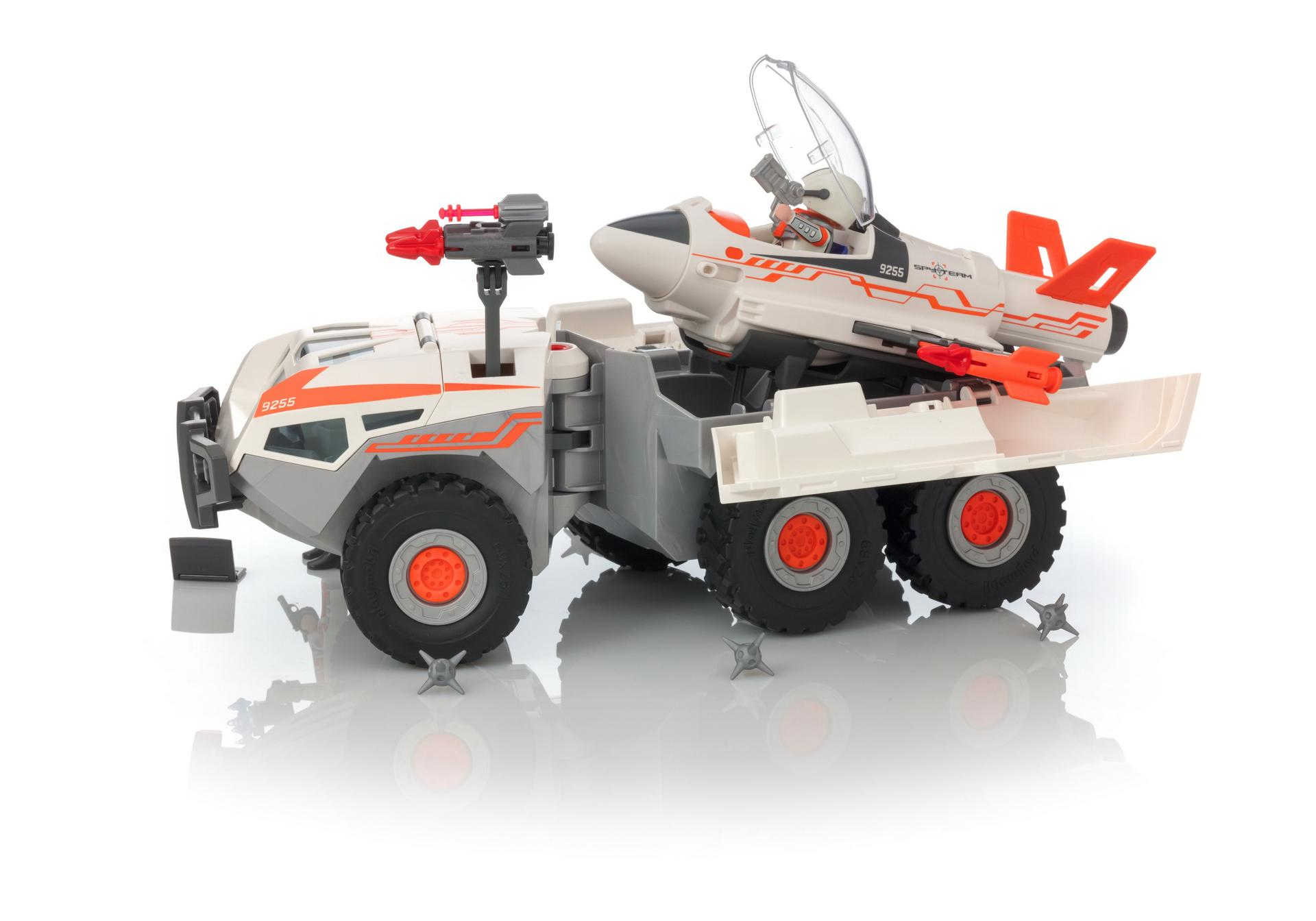 Playmobil Action Ausmalbilder : Spy Team Battle Truck 9255 Playmobil Deutschland