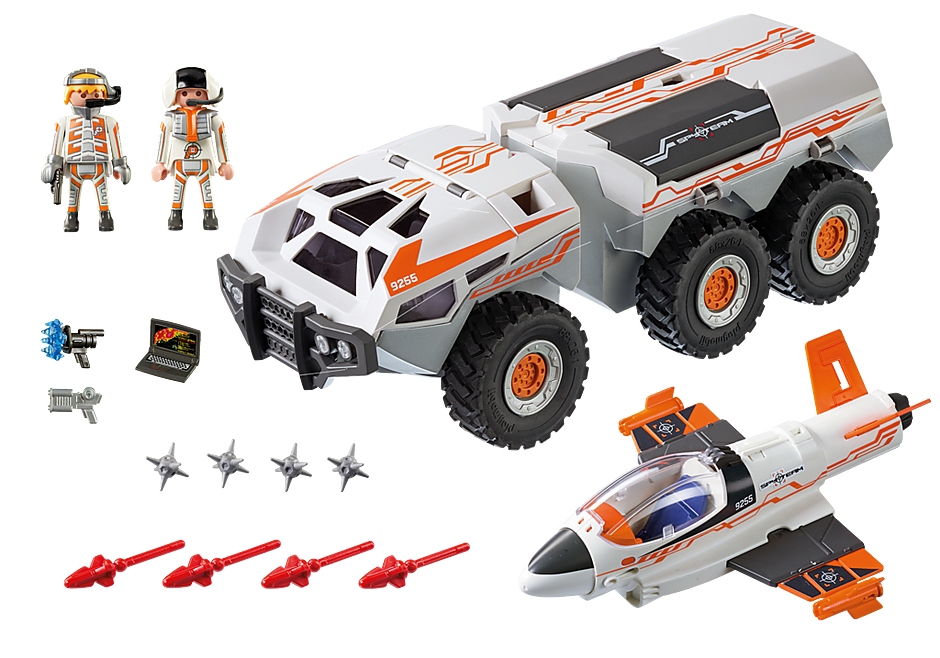 9255 Spy Team Battle Truck detail image 4