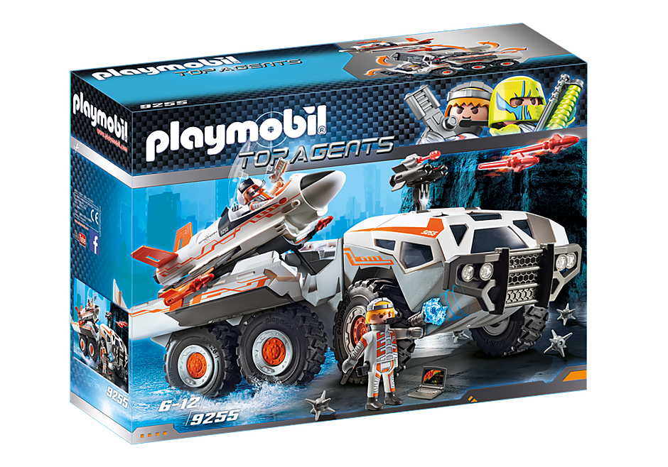 http://media.playmobil.com/i/playmobil/9255_product_box_front/Wehikuł bojowy Spy Team