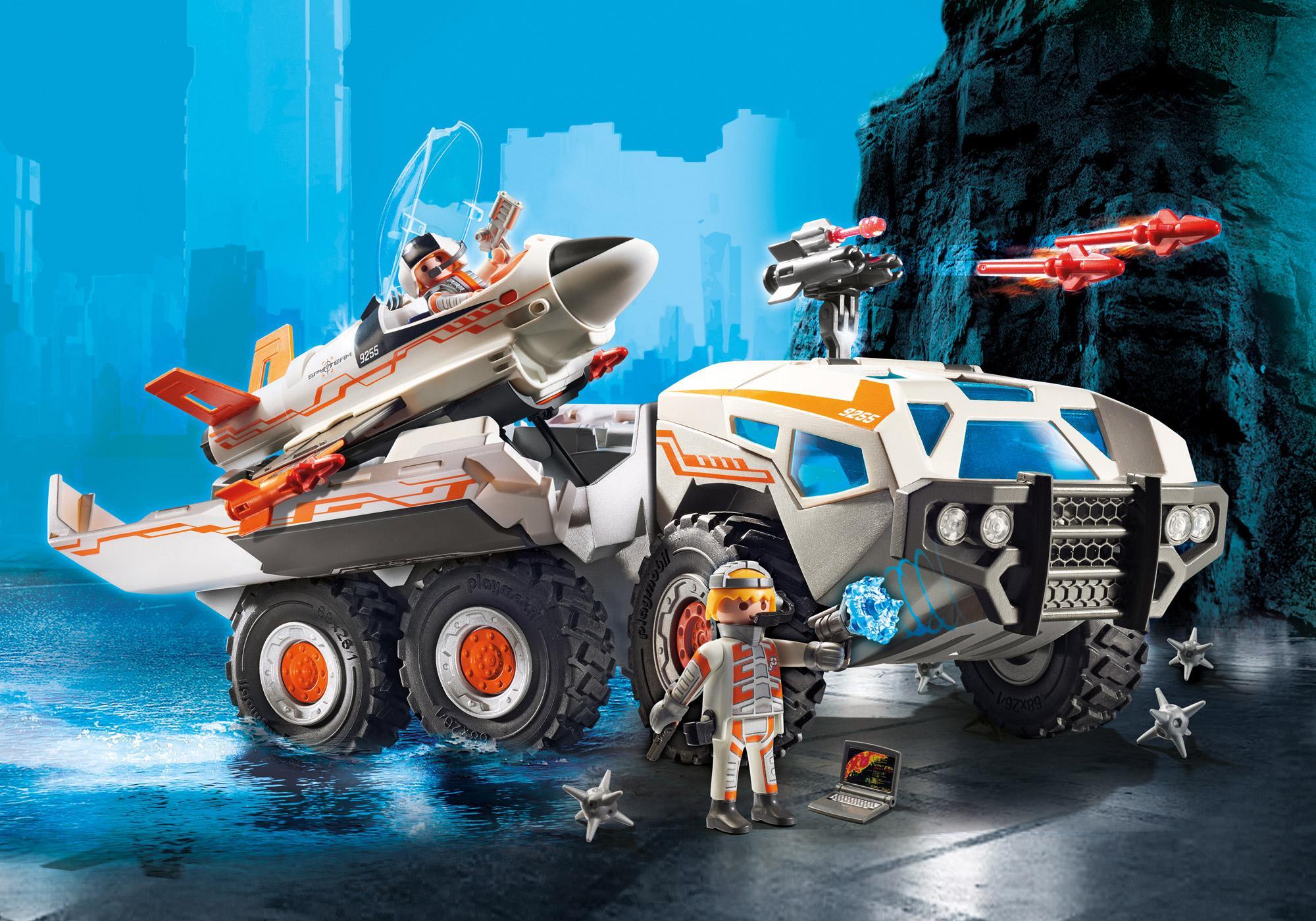 http://media.playmobil.com/i/playmobil/9255_product_detail/Camion et navette de la Spy Team