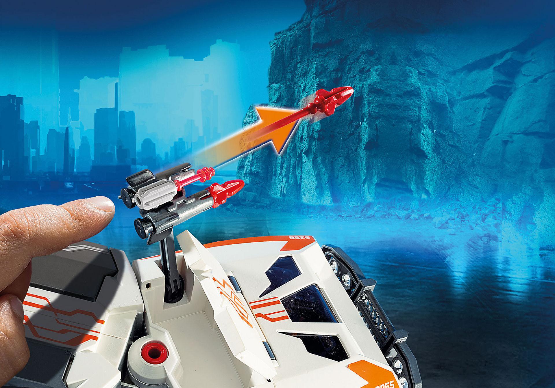 http://media.playmobil.com/i/playmobil/9255_product_extra1/Camion et navette de la Spy Team