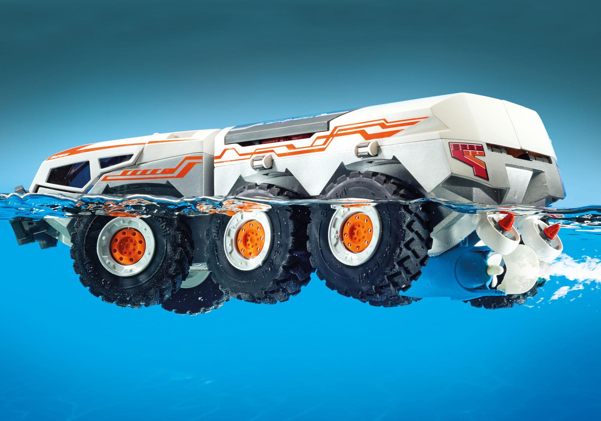 http://media.playmobil.com/i/playmobil/9255_product_extra2/Camion et navette de la Spy Team