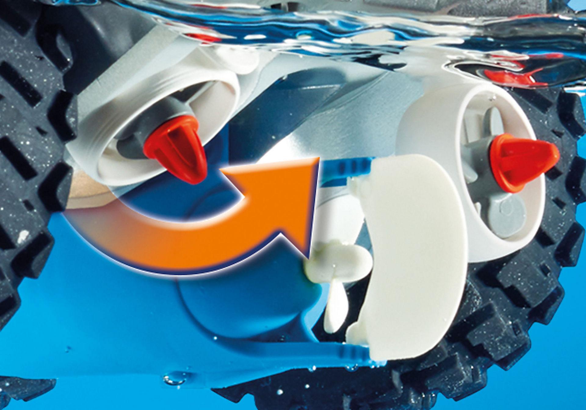 http://media.playmobil.com/i/playmobil/9255_product_extra3/Camion et navette de la Spy Team