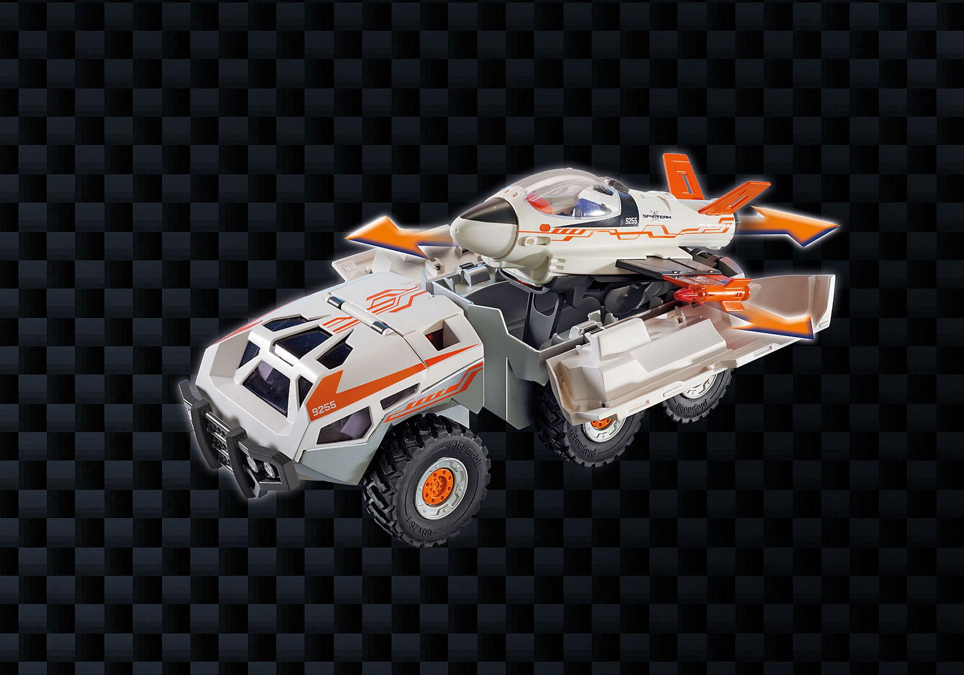 http://media.playmobil.com/i/playmobil/9255_product_extra6/Camion et navette de la Spy Team