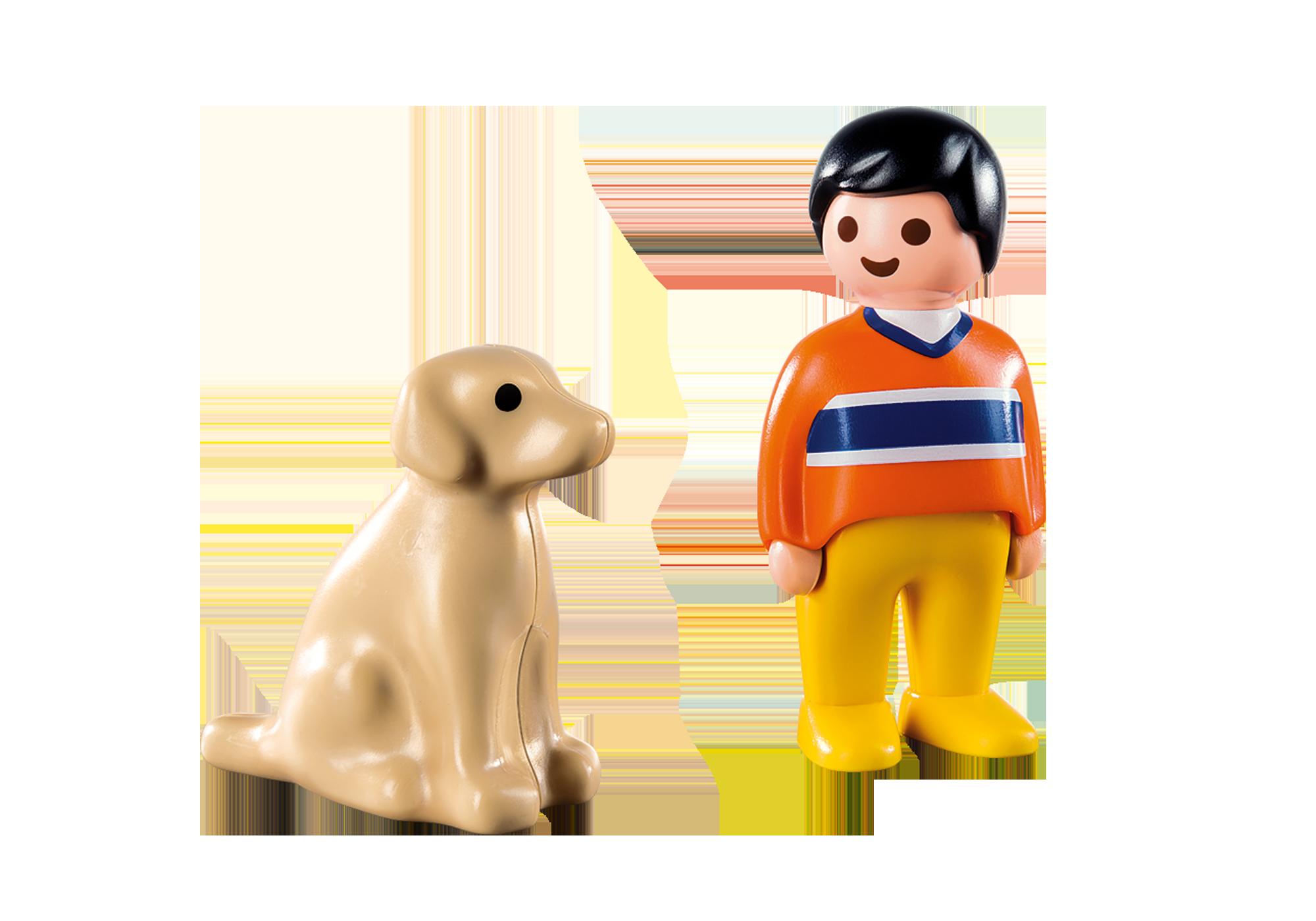 http://media.playmobil.com/i/playmobil/9256_product_box_back/1.2.3 Hombre con Perro