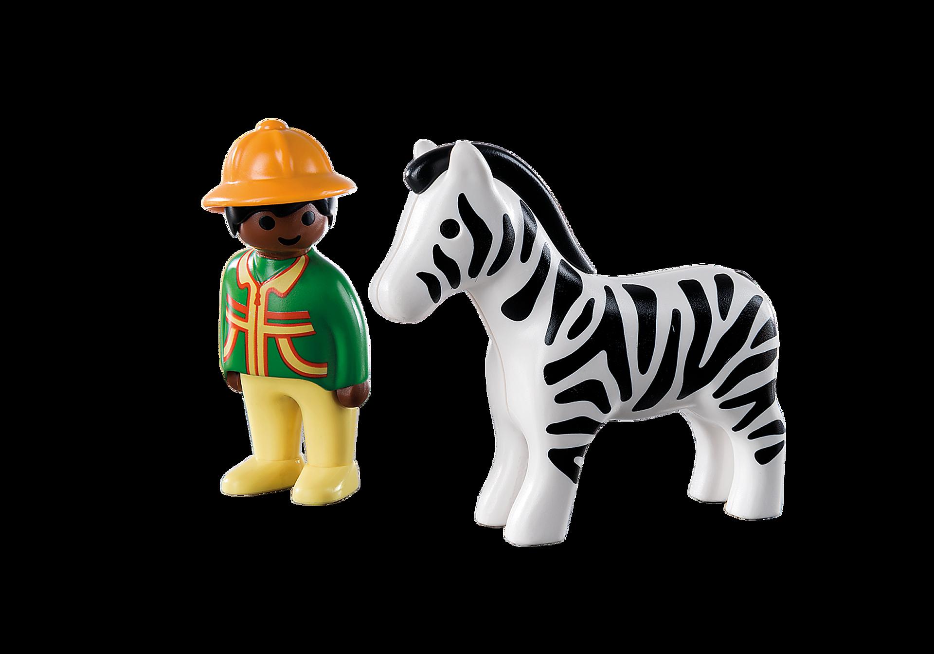 9257 1.2.3 Homem com Zebra zoom image4