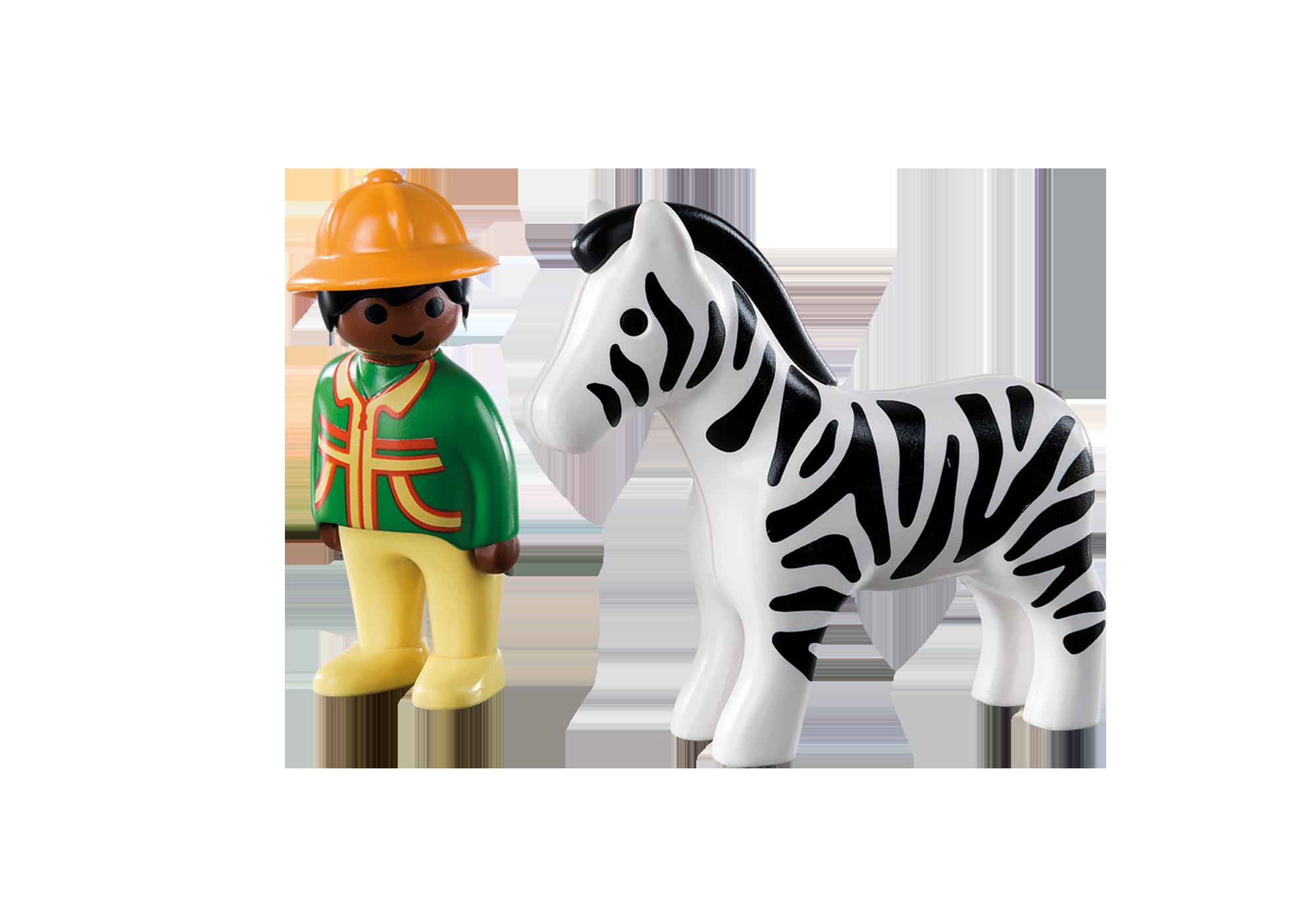 http://media.playmobil.com/i/playmobil/9257_product_box_back/1.2.3 Verzorger met zebra