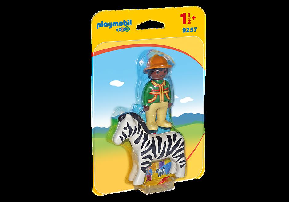 9257 1.2.3 Homem com Zebra detail image 3