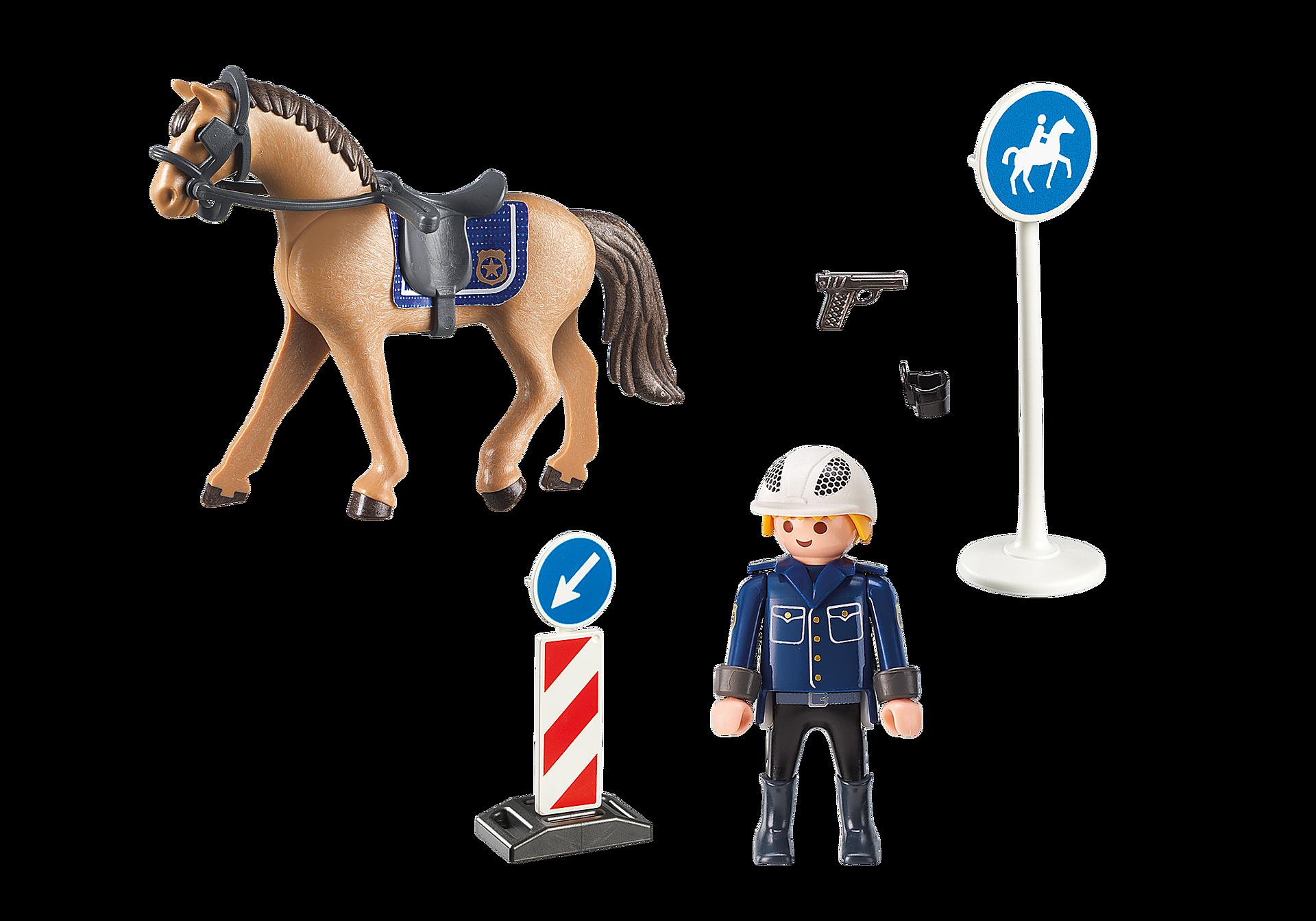 9260 Policier avec cheval  zoom image4
