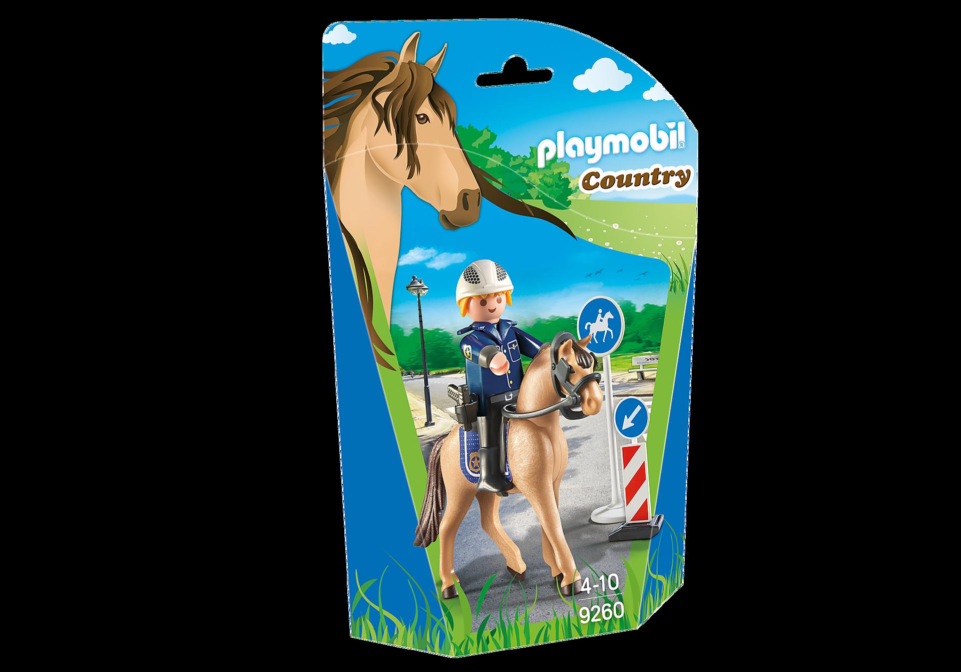 9260 Policier avec cheval  zoom image3
