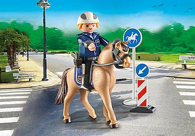 9260 Policier avec cheval