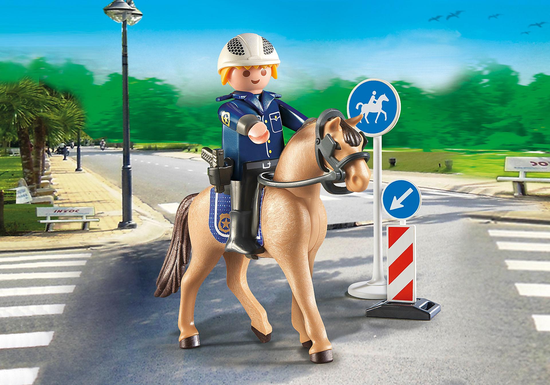 9260 Policier avec cheval  zoom image1