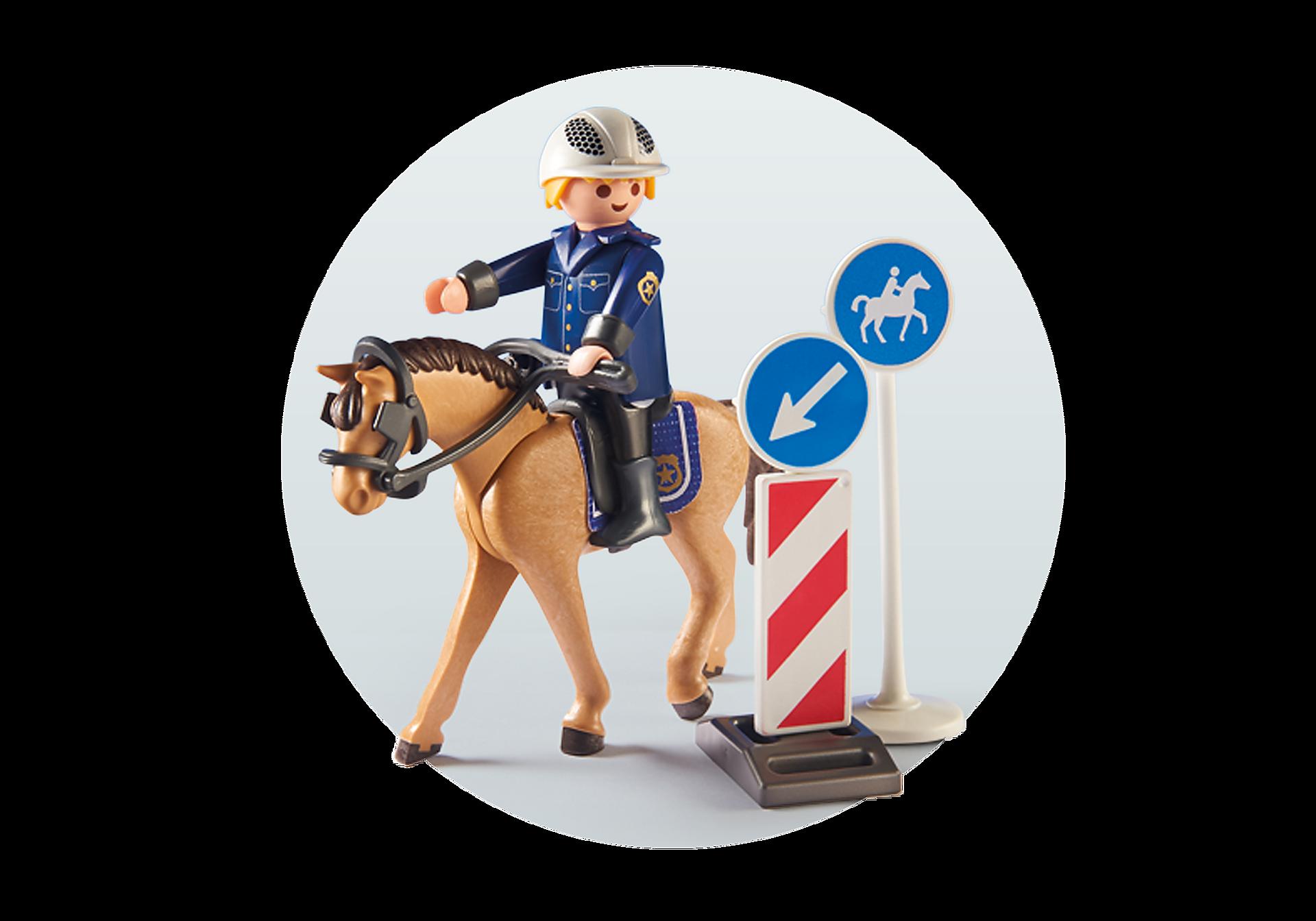 9260 Policier avec cheval  zoom image5