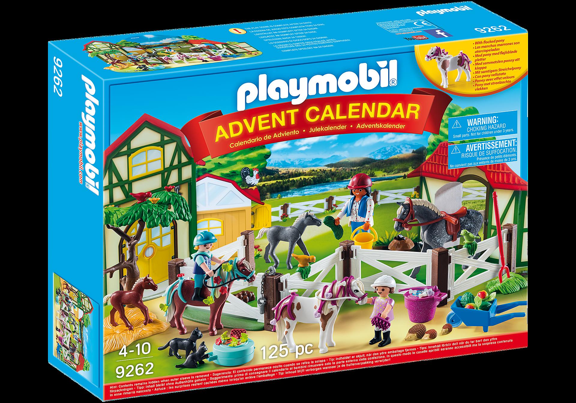 9262 Advent Calendar - Horse Farm zoom image2